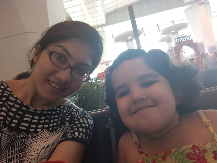 A mommy-baby episode with IGI airport and Air India16