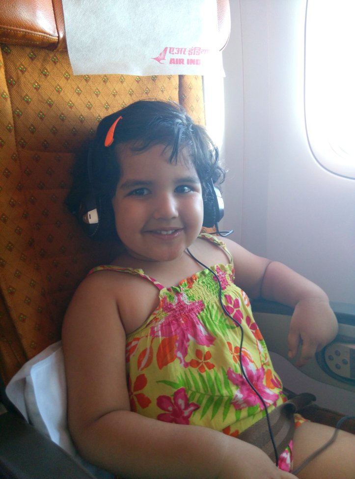 A mommy-baby episode with IGI airport and Air India2