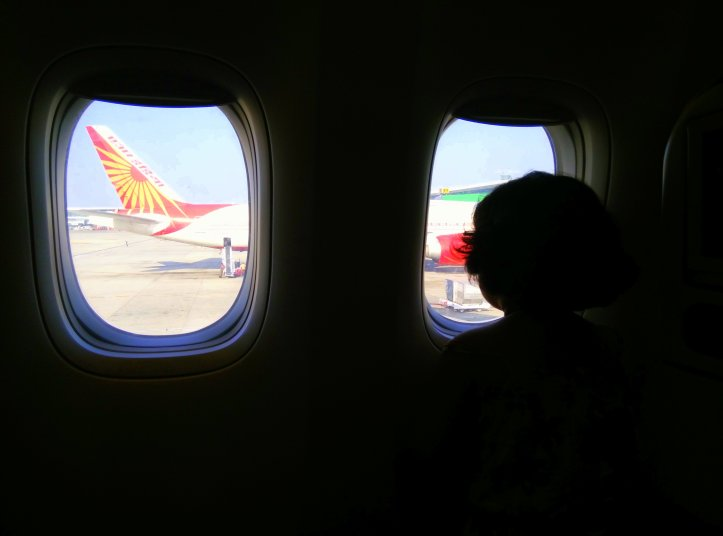 A mommy-baby episode with IGI airport and Air India3