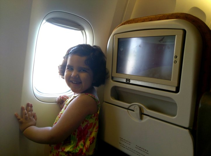 A mommy-baby episode with IGI airport and Air India4